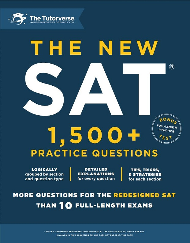 The New SAT 1500 Practice Questions